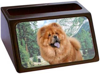 Chow Chow Business Card Holder