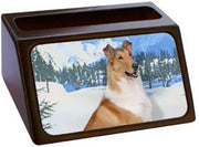 Collie Smooth Business Card Holder