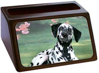 Dalmatian Business Card Holder