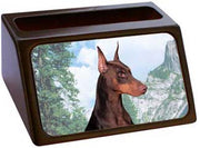 Doberman Pinscher Business Card Holder