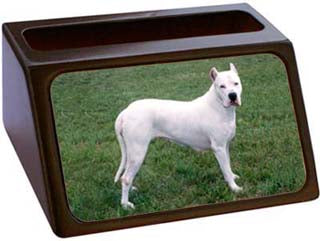 Dogo Argentino Business Card Holder