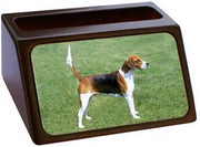 English Foxhound Business Card Holder