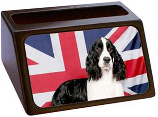 English Springer Spaniel Business Card Holder