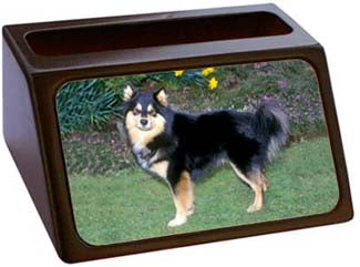 Finnish Lapphund Business Card Holder