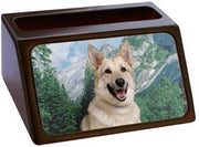 German Shepherd Business Card Holder