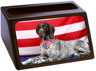 German Shorthair Pointer Business Card Holder