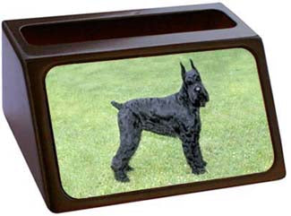 Giant Schnauzer Business Card Holder