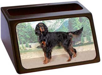 Gordon Setter Business Card Holder