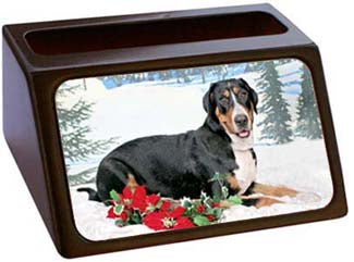 Greater Swiss Mountain Dog Business Card Holder