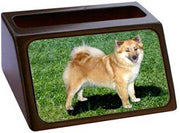 Icelandic Sheepdog Business Card Holder