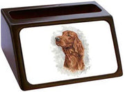 Irish Setter Business Card Holder