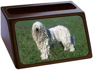 Komondor Business Card Holder