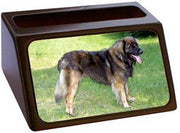 Leonberger Business Card Holder