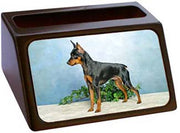 Miniature Pinscher Business Card Holder