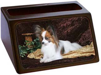 Papillon Business Card Holder