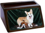 Pembroke Welsh Corgi Business Card Holder
