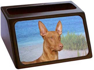 Pharaoh Hound Business Card Holder