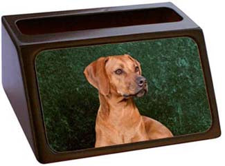 Rhodesian Ridgeback Business Card Holder