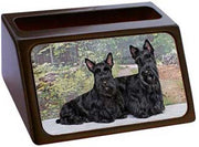 Scottish Terrier Business Card Holder