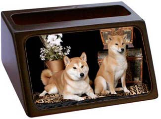 Shiba Inu Business Card Holder