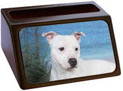 Staffordshire Bull Terrier Business Card Holder