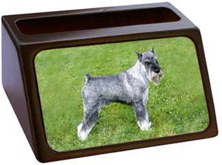 Standard Schnauzer Business Card Holder