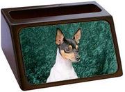Toy Fox Terrier Business Card Holder