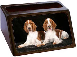 Welsh Springer Spaniel Business Card Holder