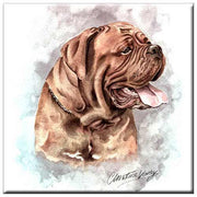 Dogue De Bordeaux  Tile