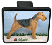 Airedale Terrier Trailer Hitch Cover