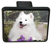 American Eskimo Trailer Hitch Cover