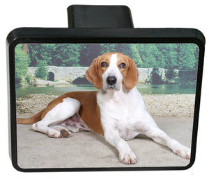 American Foxhound Trailer Hitch Cover