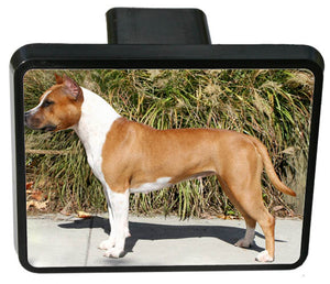 American Staffordshire Terrier Trailer Hitch Cover