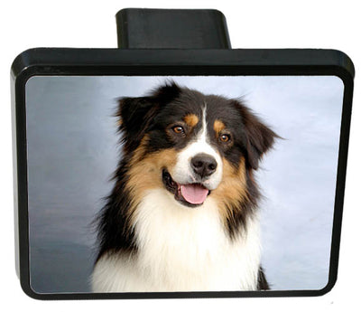 Australian Shepherd Trailer Hitch Cover