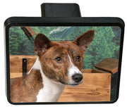 Basenji Trailer Hitch Cover