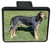 Blue Tick Coonhound Trailer Hitch Cover