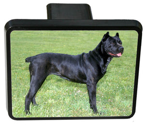 Cane Corso Trailer Hitch Cover