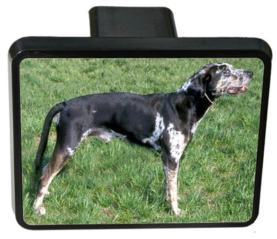 Catahoula Leopard Trailer Hitch Cover