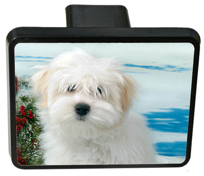 Coton du Tulear Trailer Hitch Cover