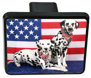 Dalmatian Trailer Hitch Cover