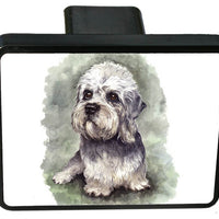 Dandie Dinmont Trailer Hitch Cover