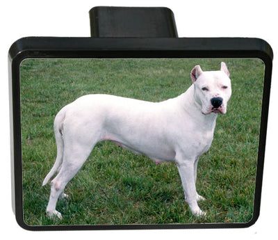 Dogo Argentino Trailer Hitch Cover