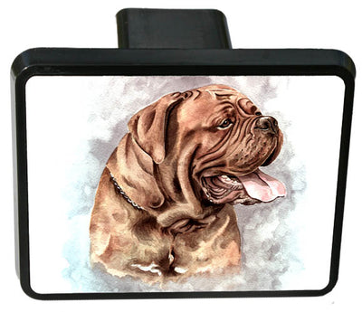 Dogue De Bordeaux Trailer Hitch Cover