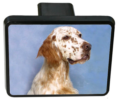 English Setter Trailer Hitch Cover