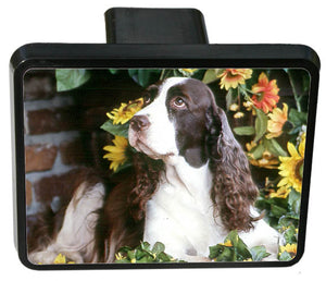 English Springer Spaniel Trailer Hitch Cover