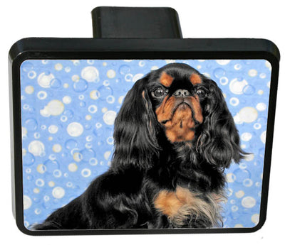 English Toy Spaniel Trailer Hitch Cover