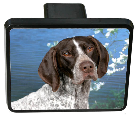 German Shorthair Pointer Trailer Hitch Cover