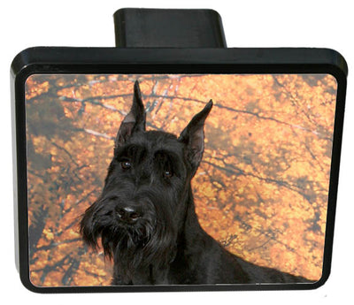 Giant Schnauzer Trailer Hitch Cover