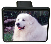 Great Pyrenees Trailer Hitch Cover