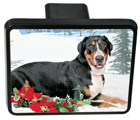 Greater Swiss Mountain Dog Trailer Hitch Cover